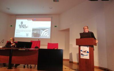 SAFE STRIP presented at ISRBT 2018 in Thessaloniki