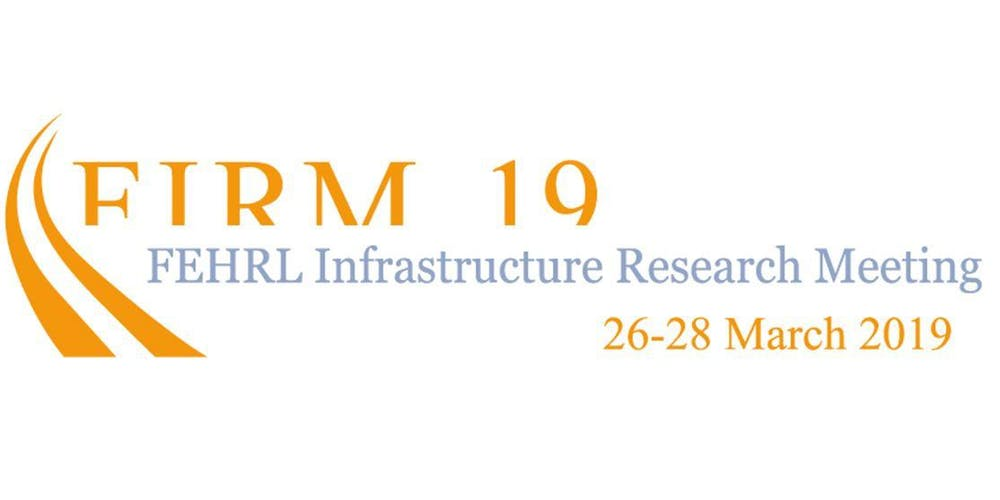 SAFE STRIP to be presented at FIRM19 – FEHRL Infrastructure Research Meeting 2019