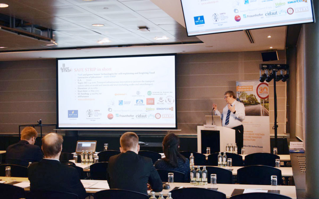 SAFE STRIP presented at the FIRM19 event in Brussels