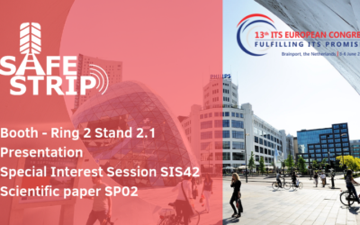 Don't miss SAFE STRIP at the ITS European Congress 2019