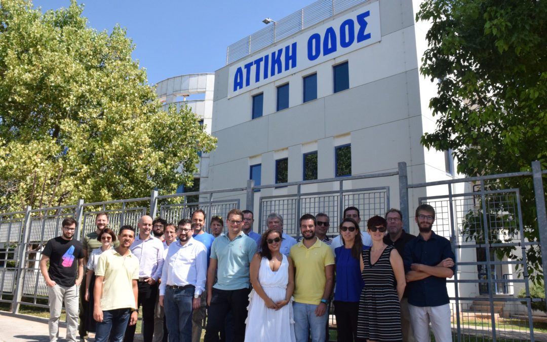 SAFE STRIP consortium meets in Athens for first overall road testing