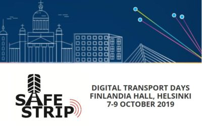 SAFE STRIP goes to Digital Transport Days in Helsinki, Finland