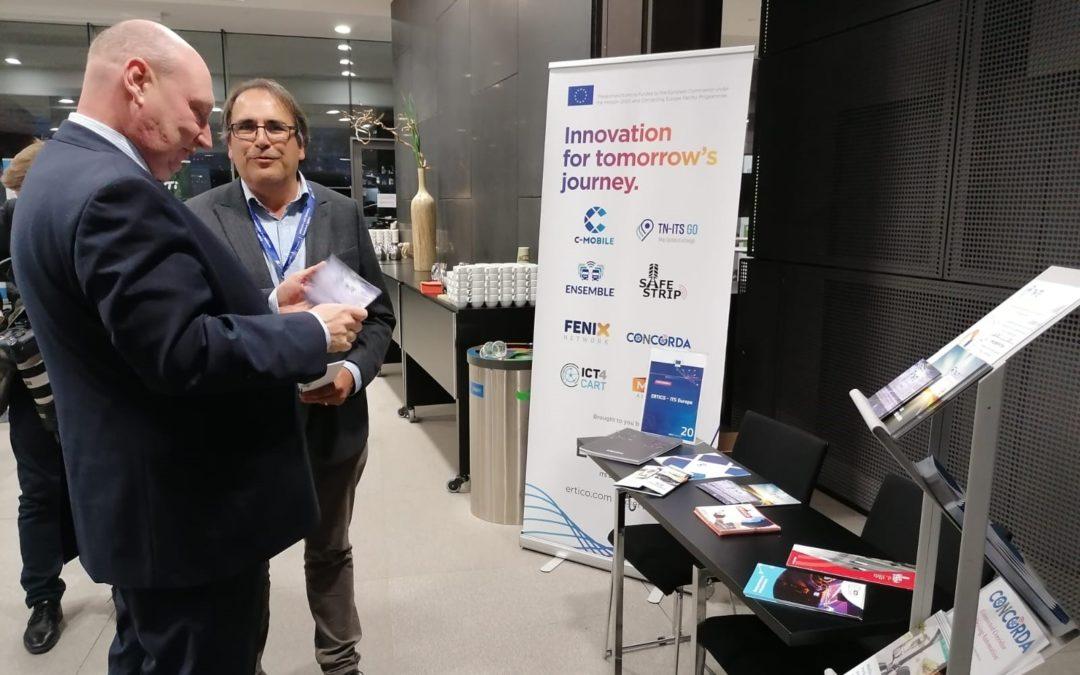 SAFE STRIP presented at Digital Transport Days in Helsinki