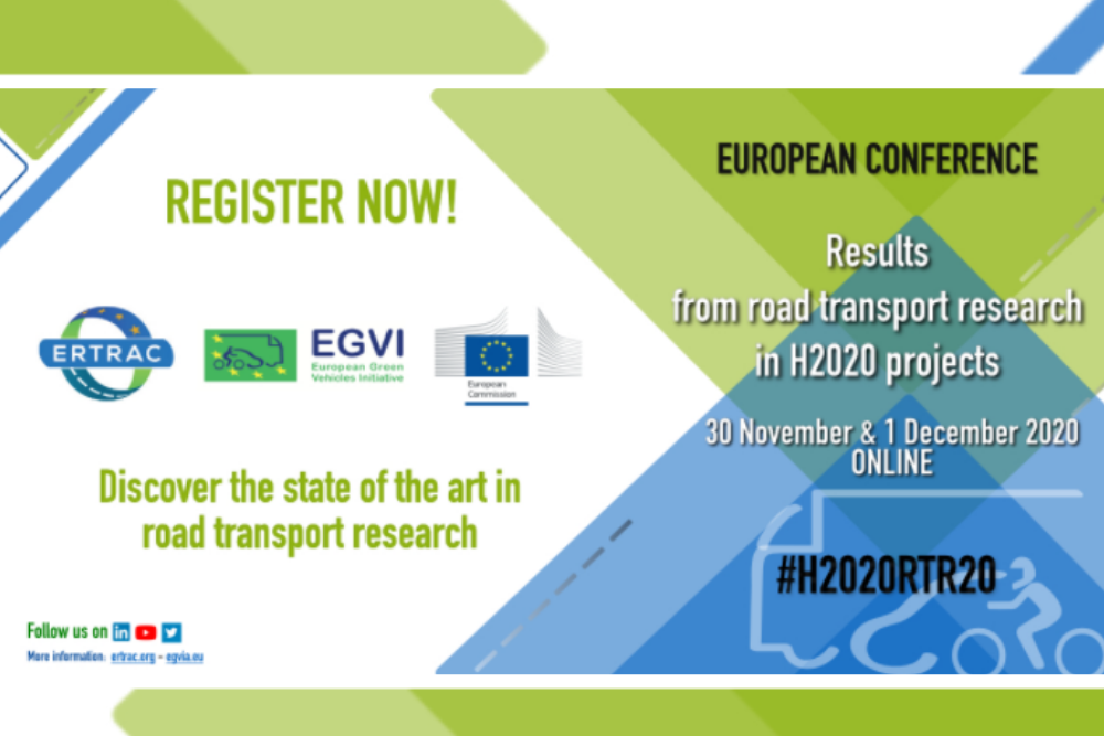 SAFE STRIP is selected for the H2020 Road Transport Research European Conference